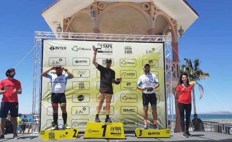 Miguel Sabah se subió al podio de Le Tour de France