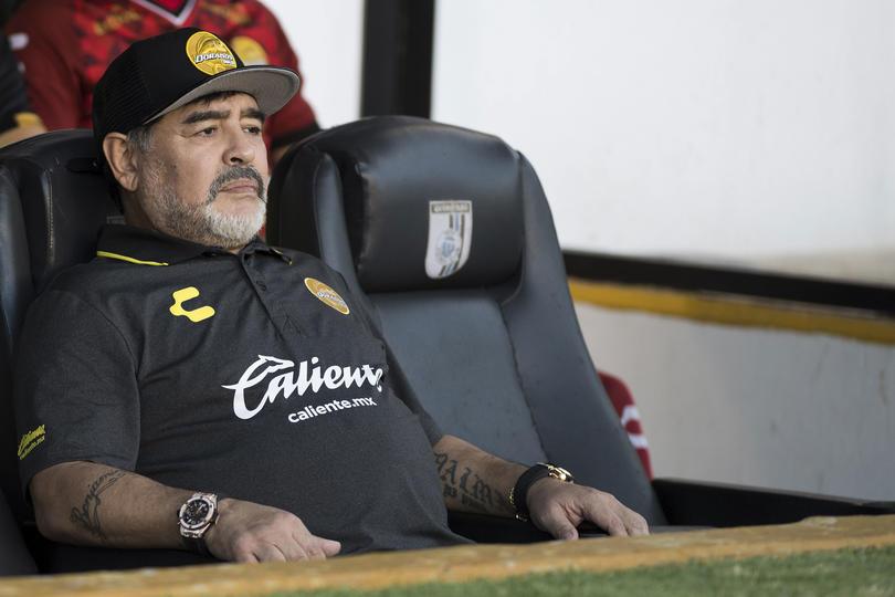 Maradona con Dorados