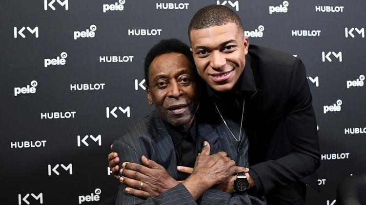 Mbappé y Pelé