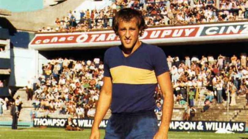Roberto Mouzo con Boca Juniors