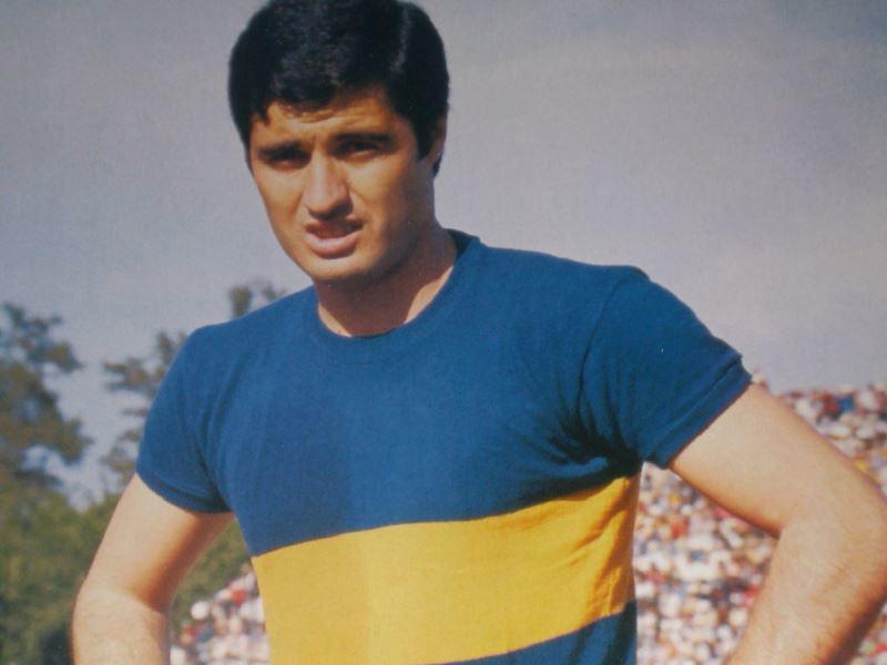 Ángel Clemente Rojas con Boca Juniors