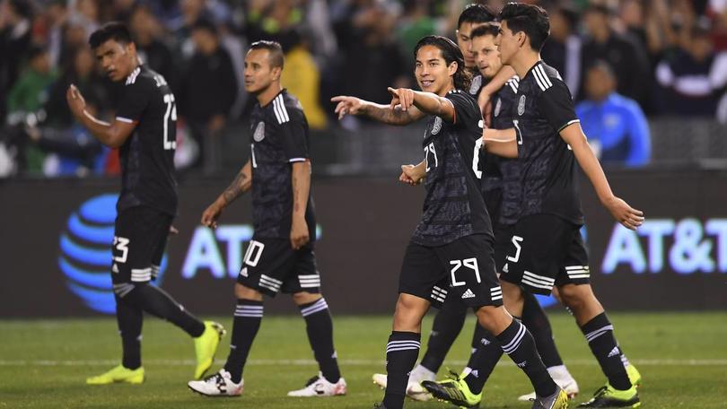 Selección Mexicana en partido amistoso ante Paraguay