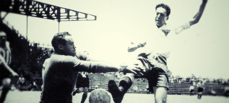 el Ame obtuvo su primera Copa aun en la época amateur