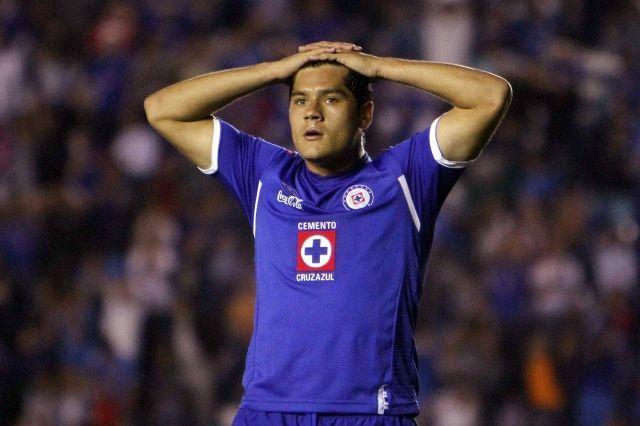 Javier Chuletita Orozco con Cruz Azul