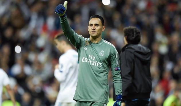 Keylor Navas aún se ve como jugador del Madrid