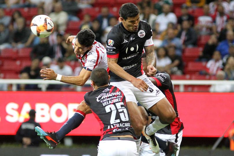 Molina en el partido contra Lobos BUAP