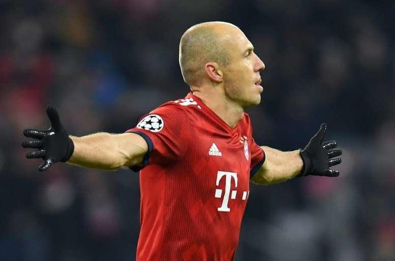 Robben ve con buenos ojos terminar su carrera en la MLS