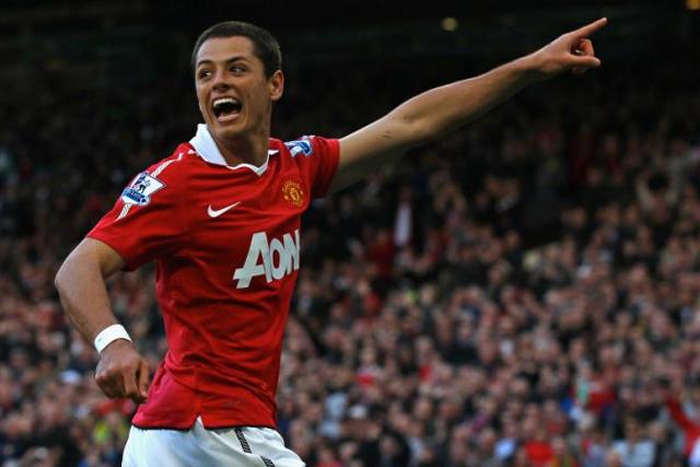 Chicharito anotó 59 goles con el Manchester United