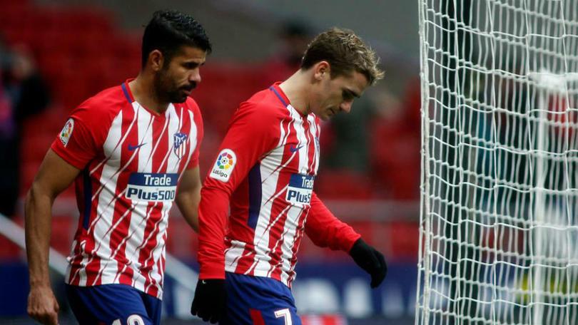 Diego Costa y Antoine Griezmann
