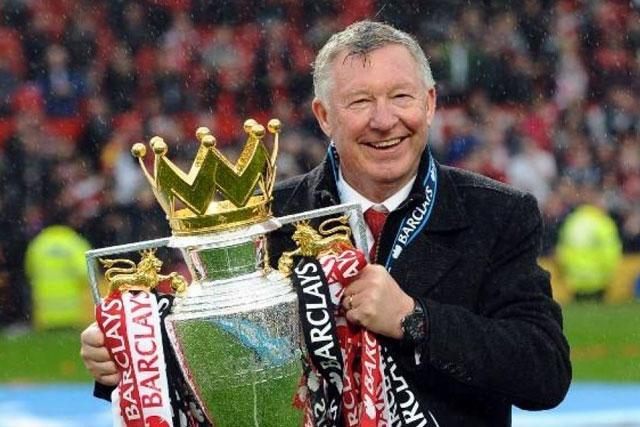 Sir Alex Fergurson, leyenda del Manchester United
