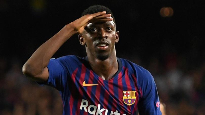 Ousmane Dembélé está a la orden para jugar con Barcelona