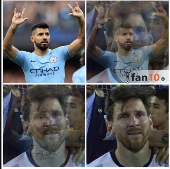 Meme cuartos de final, ida, Champions