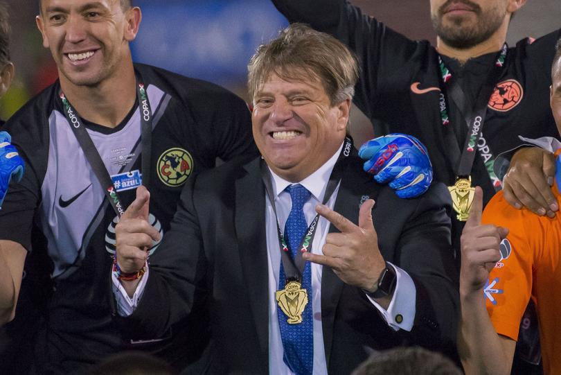 Miguel Herrera dijo que el América no tiene rival en el futbol de México