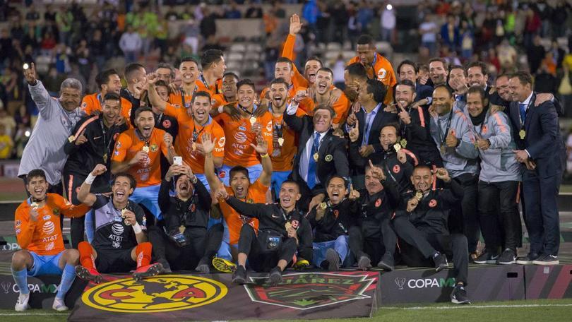 América levantó el título 39 en su historia con la Copa MX