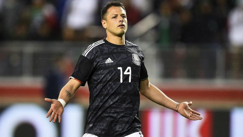Javier Hernández podría perderse la Copa Oro