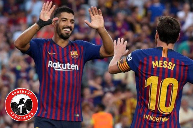 Messi y Suárez, uno de los mejores bromance del futbol