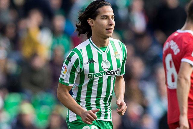 Paco Jémez no se negaría de recibir a Diego Lainez a préstamo