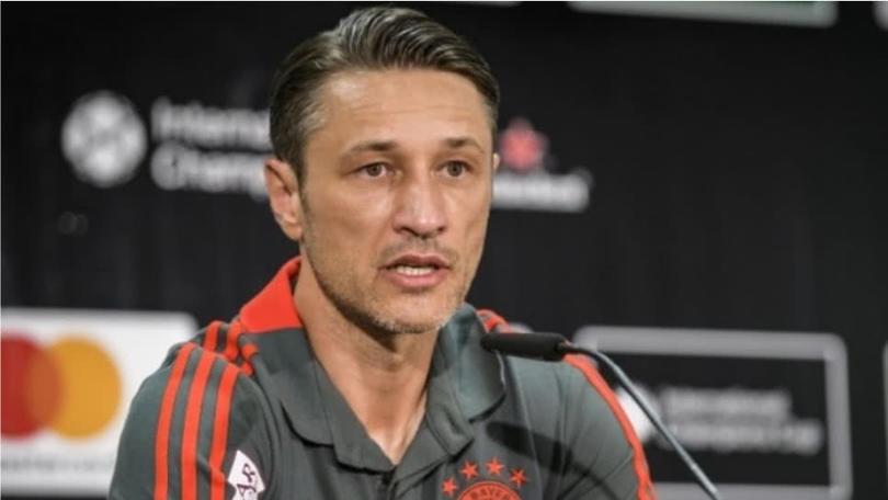Niko Kovac conferencia de prensa