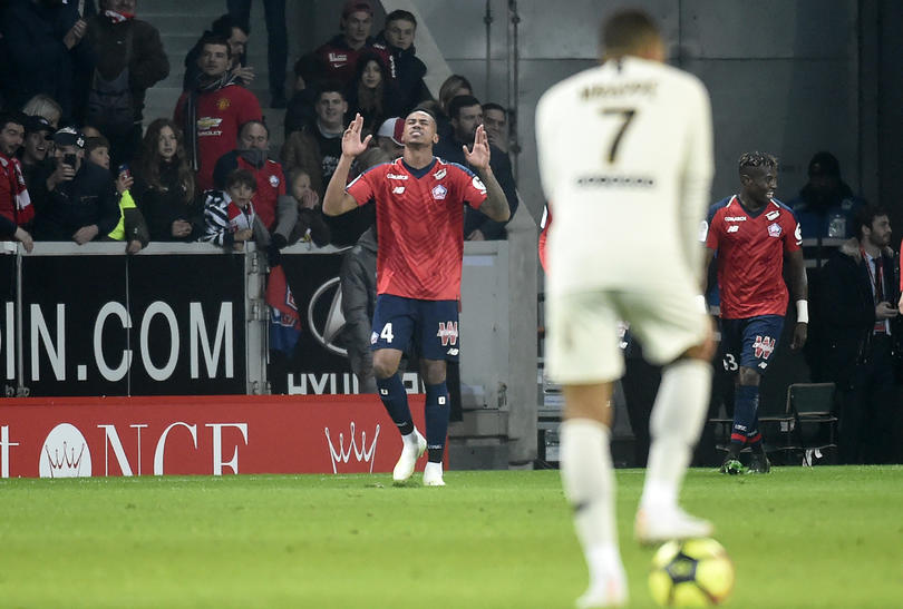 EL PSG de Mbappé fue goleado 5-1 por el Lille
