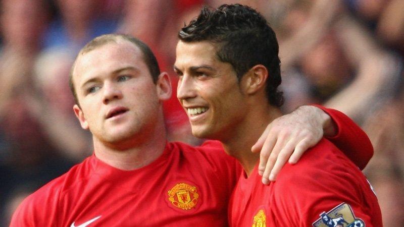 Rooney reveló que Cristiano siempre quiere ganar