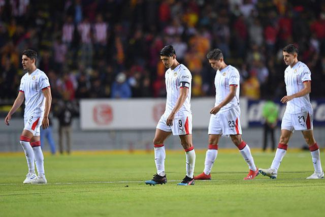 Chivas ya está en el penúltimo lugar para descender en la temporada 2019-2020