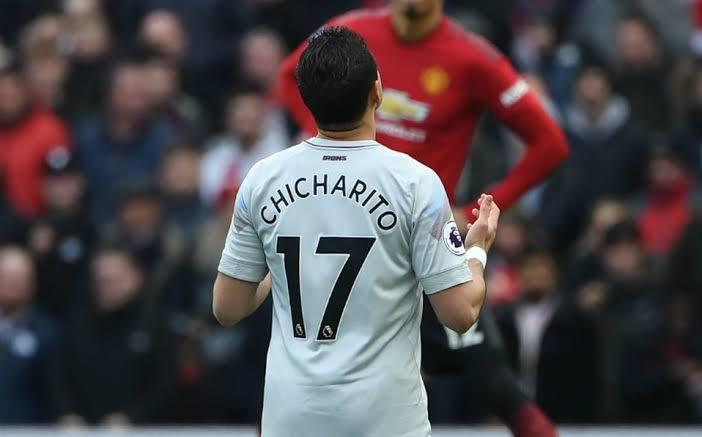 Chicharito Hernández en Old Trafford