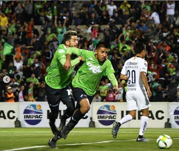 Gol de Omar Panuco a Pumas en la Copa MX