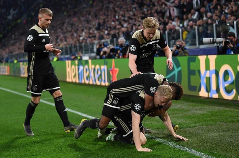 Ajax eliminó a la Juventus en los cuartos de Champions