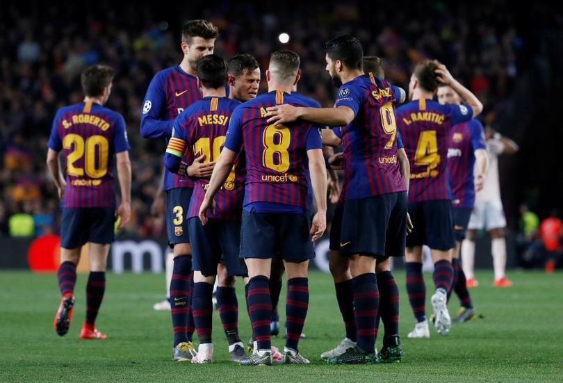 Barcelona derrota al Manchester United