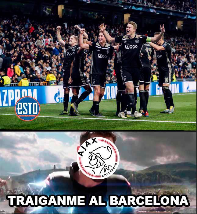 Memes Juventus vs Ajax