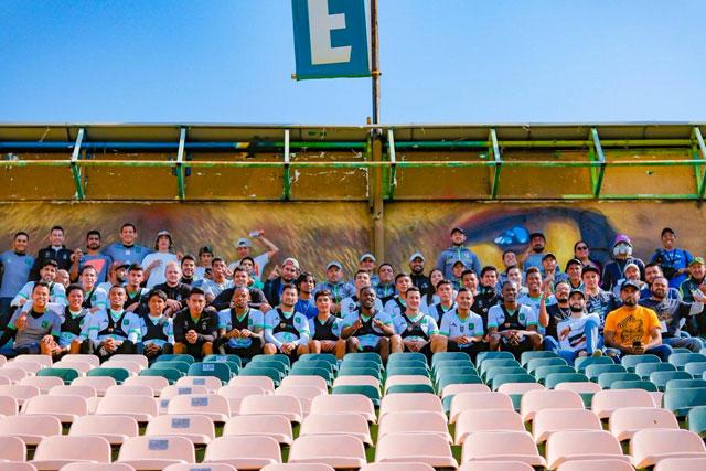 León lucirá un mural en su estadio para celebrar el récord de victorias consecutivas