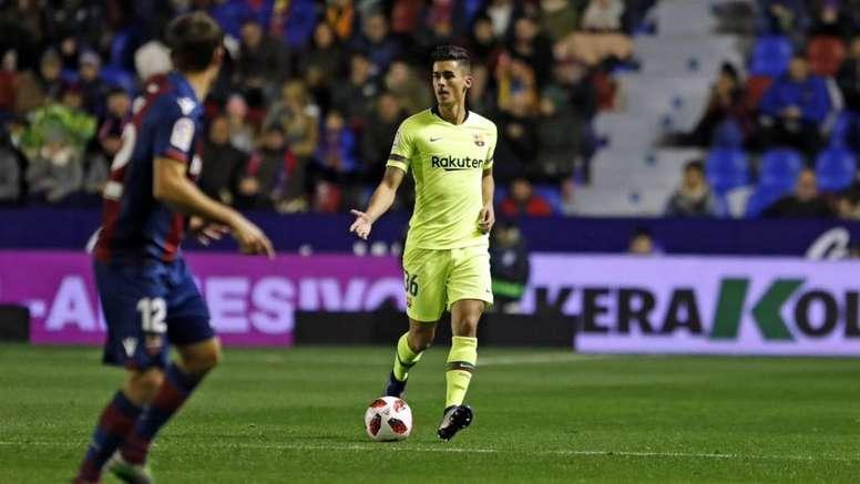 Chumi no debió jugar ante Levante en la Copa del Rey