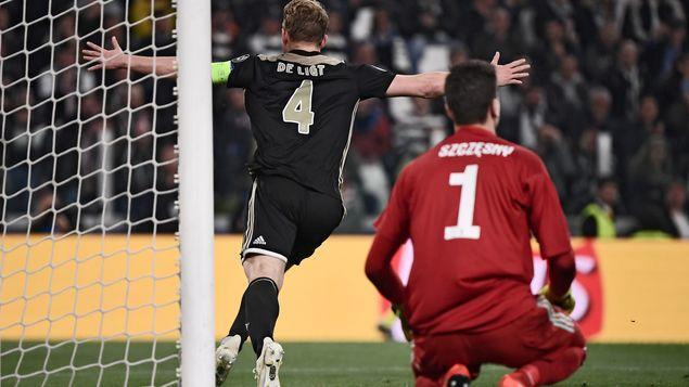 Ajax elimina a la Juventus