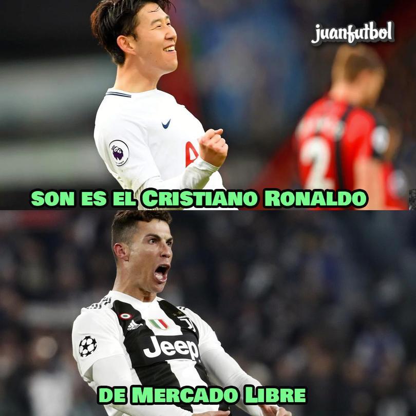 Los mejores memes del City vs Tottenham