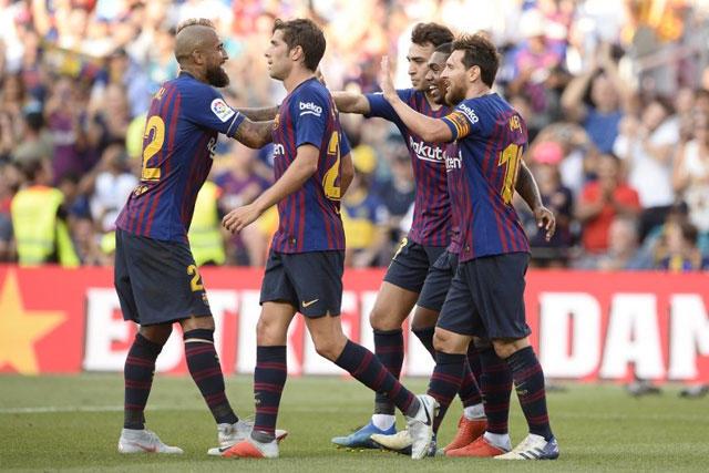 Barcelona es uno de los semifinalistas de la Champions