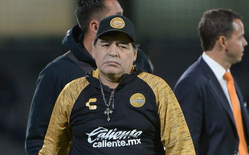Diego Armando Maradona habla sobre su continuidad en Dorados