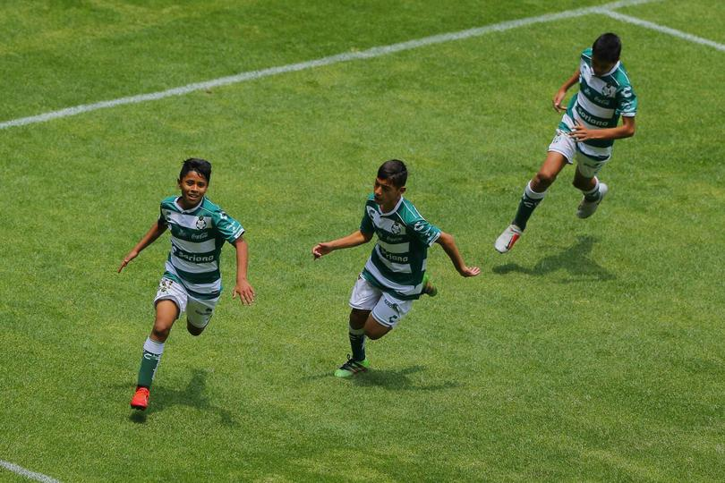 Santos Sub-13 es campeón del torneo de primavera