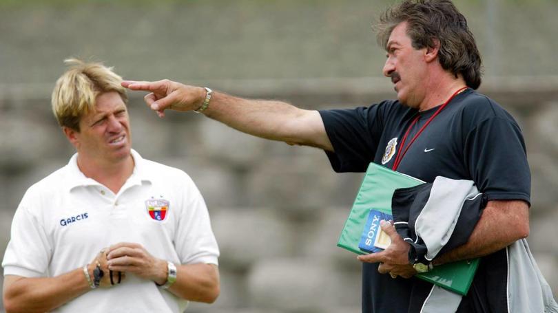 Miguel Herrera y Ricardo La Volpe