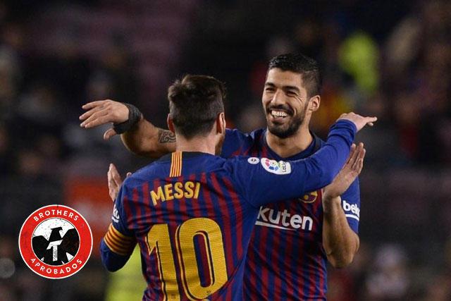 Messi y Suárez bromance del futbol