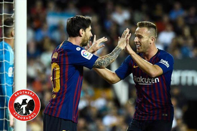 Arthur sorprendió con sus declaraciones sobre Messi y Piqué