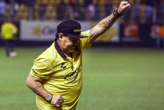 Maradona y Dorados suman 11 juegos sin conocer la derrota en el Ascenso MX