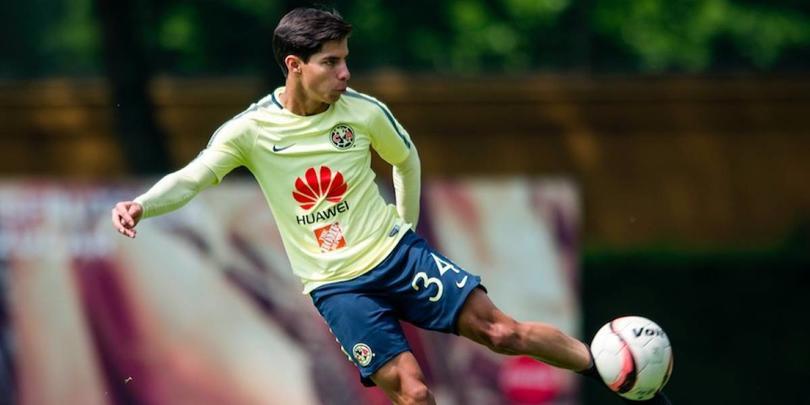 Diego Lainez debutó con América a los 16 años
