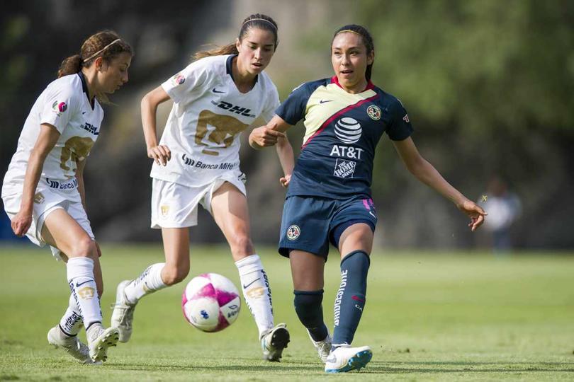 Clásico capitalino de la Liga Mx Femenil