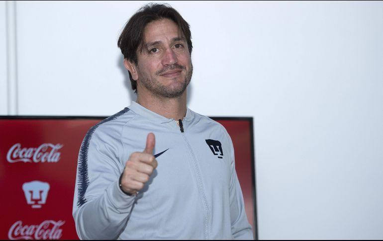 Bruno Marioni promete que hará campeón a Pumas