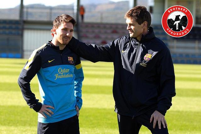 Lionel Messi recordó a Tito Vilanova a cinco años de su muerte