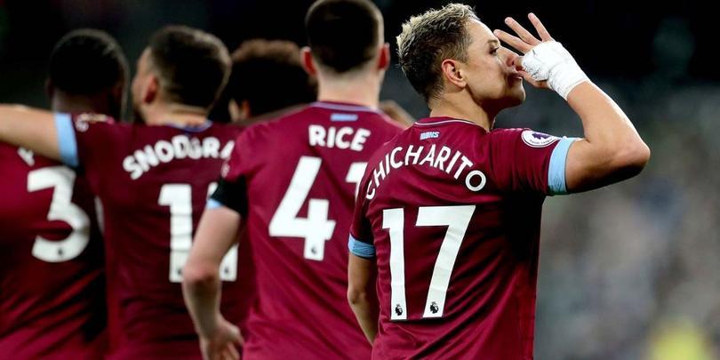 Chicharito podría reaparecer con West Ham ante Tottenham