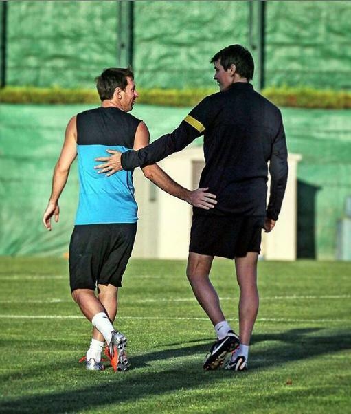 Lionel Messi recordó a Tito Vilanova a cinco años de su fallecimiento