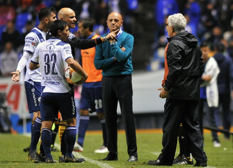 José Luis Sánchez Solá y Ricardo Ferretti