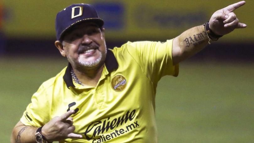Maradona acepta que tiene ofertas para dejar a Dorados