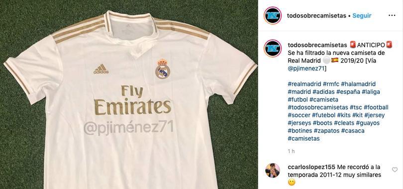 6d615bd62 Se filtra el posible uniforme del Real Madrid para la próxima temporada